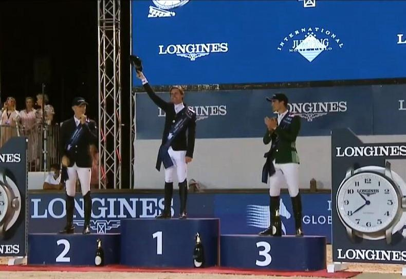 SHOW JUMPING: Grand Prix win for Darragh Kenny at Monaco Global Champions Tour