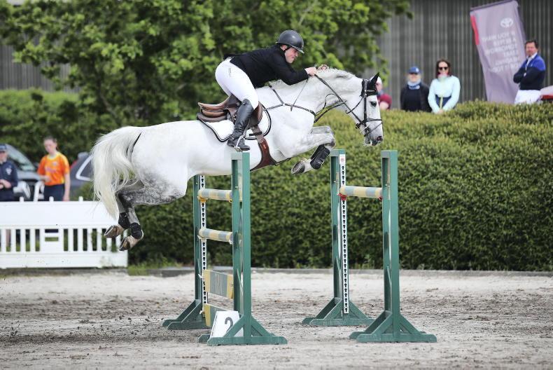 SHOW JUMPING: Landlystes Rubina triumphs for Harrison
