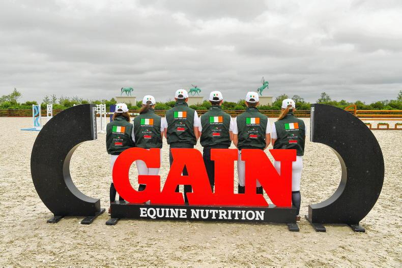 Irish show jumping squads named for the 2021 FEI European Championships