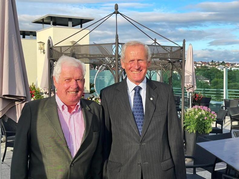 NEWS: John Roche honoured with prestigious award