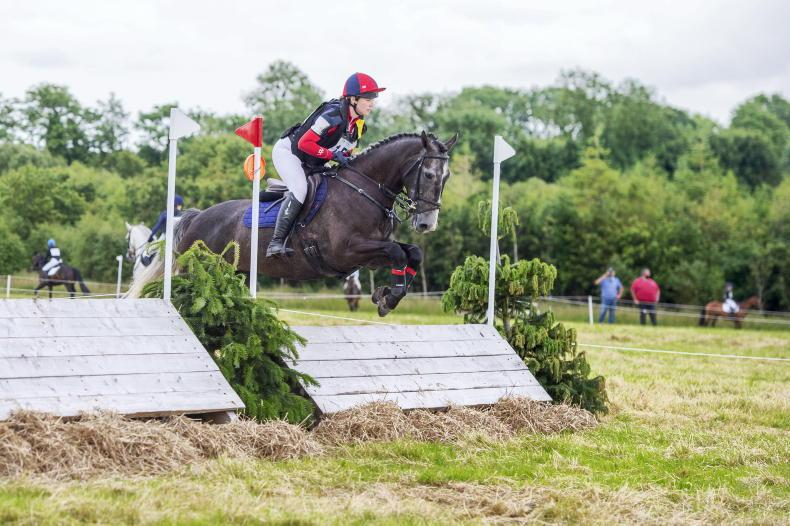 EVENTING: Steele shows her mettle to win