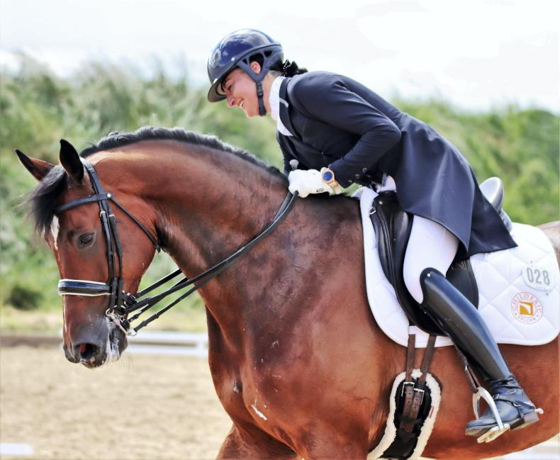 DRESSAGE: Carr shines at Emerald