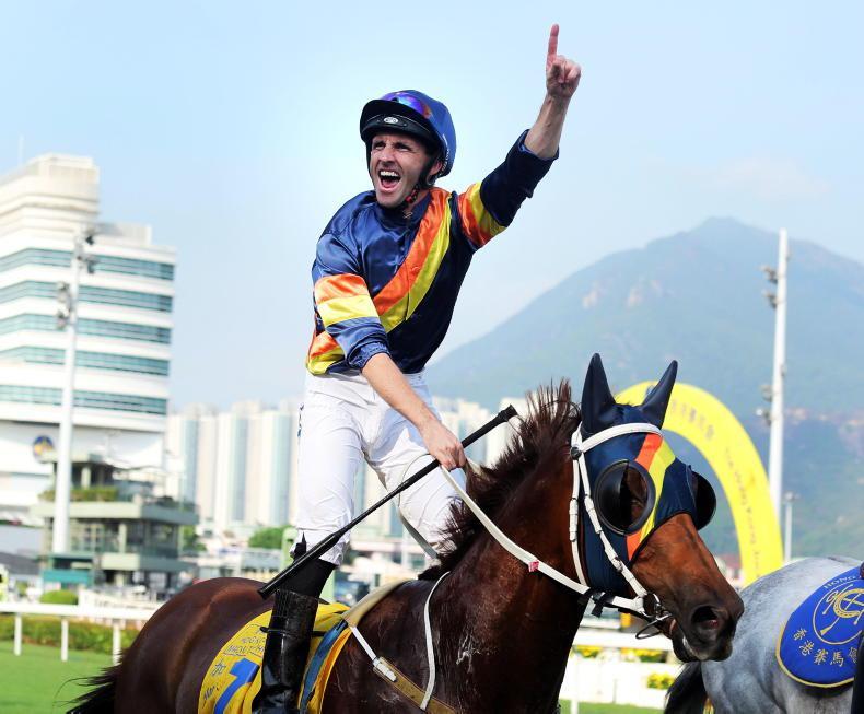 HONG KONG: Callan heads home with a final success