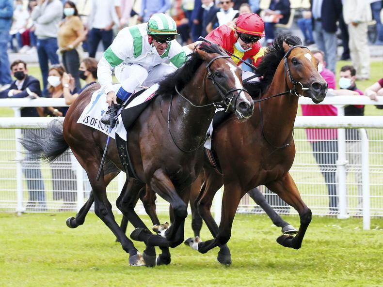 FRANCE: Laws Of Indices' gamble pays off for Condon