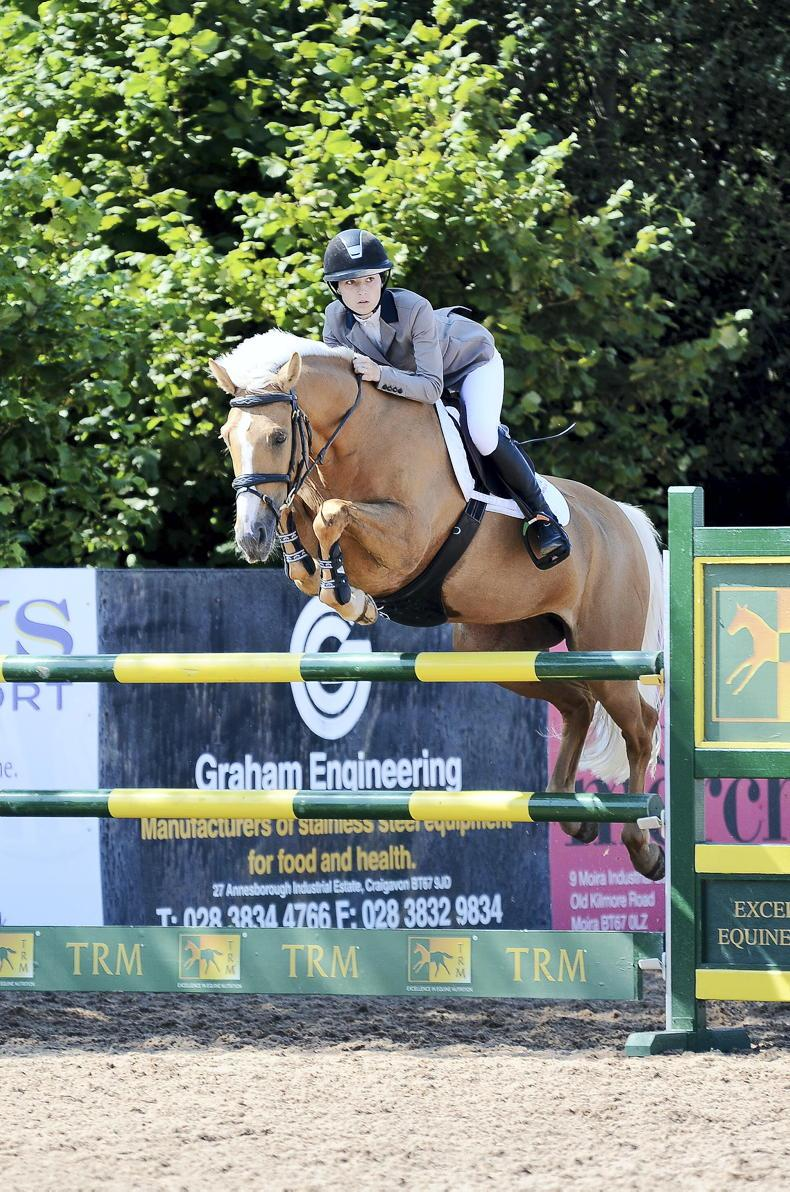 SHOW JUMPING: Good day at the office for pony riders