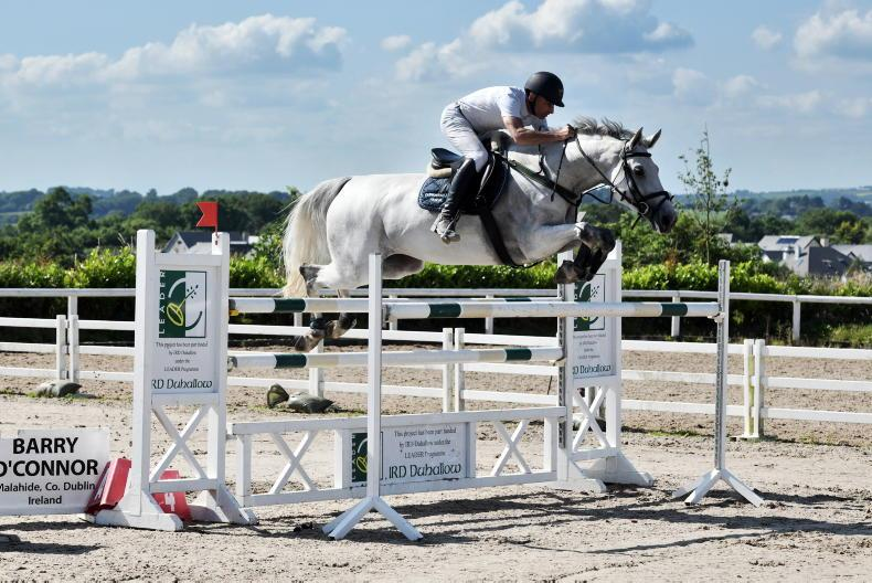 SHOW JUMPING: McConnell scores with Izzy in Maryville