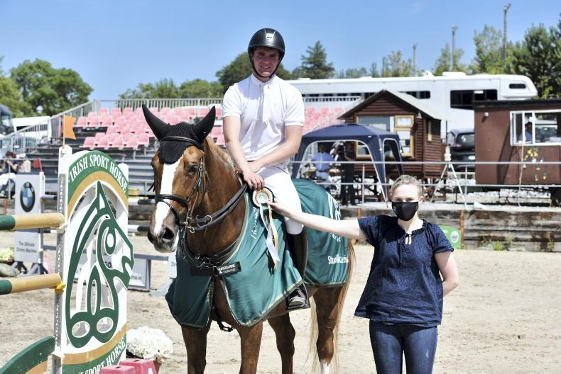 SHOW JUMPING: Studbook win for O'Donoghue