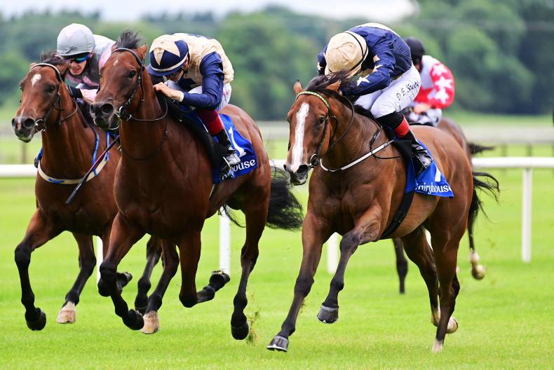 IRISH EBF BALLYHANE STAKES: Will the Champers Elysees team be Lucky again?