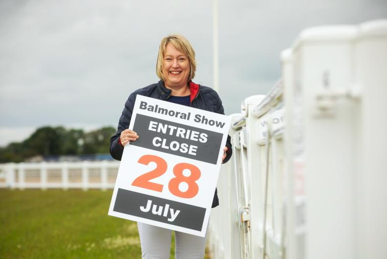 BALMORAL SHOW: Entries closing on July 28th