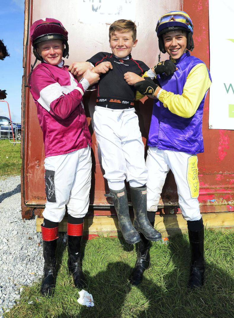 PONY RACING: First winners for Jack and Paddy in Donegal