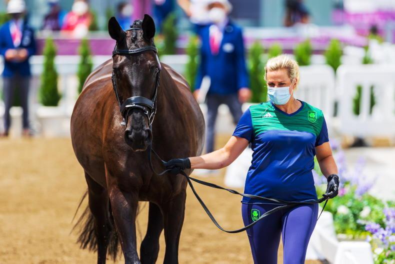 TOKYO: Heike Holstein to ride Grand Prix on Sunday morning