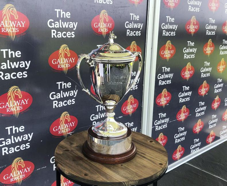 PARROT MOUTH: Galway flat trophy honours 'warrior' Pat