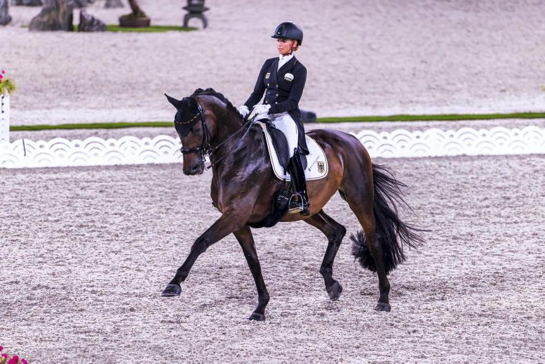TOKYO: Germany's Von Bredow-Werndl stuns on day one of Grand Prix competition