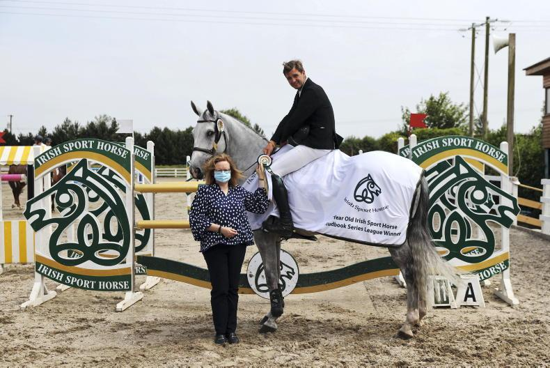 SHOW JUMPING: Champion honours for HW True Blue