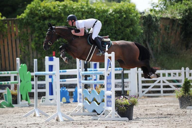 SHOW JUMPING: O'Regan's winning 'Demonstration' takes top slot