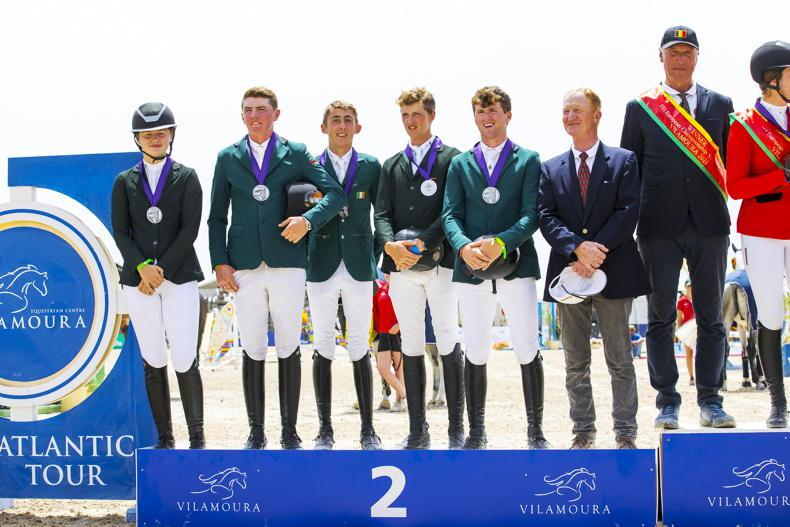 'All of our riders were outstanding' - Irish young riders take home silver