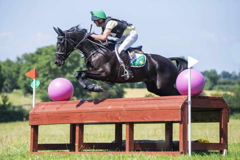 EVENTING: O'Toole rewarded with double