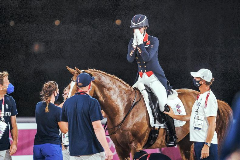 TOKYO: Olympic dressage in pictures