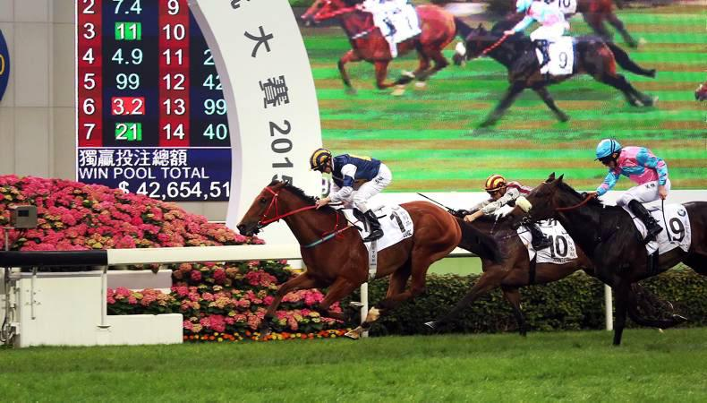 HONG KONG: Luger fires in Derby win
