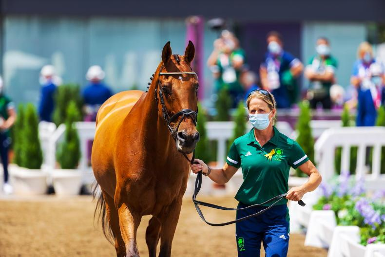 TOKYO EVENTING: All Irish team through vet check; find out their dressage times