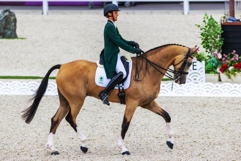 TOKYO: ' I am a little disappointed with the mark' - Eventing gets underway