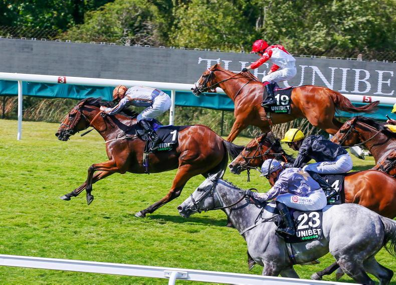 DONN McCLEAN: Imported sprinter has 3lb in hand