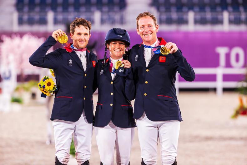 TOKYO EVENTING: Team gold for brilliant Britain