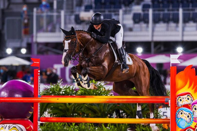 TOKYO EVENTING: Julia Krajewski becomes first female Olympic champion