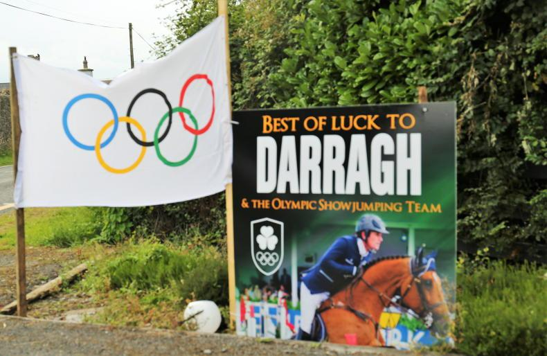 TOKYO: The home flags are out for Darragh and the Irish show jumping team
