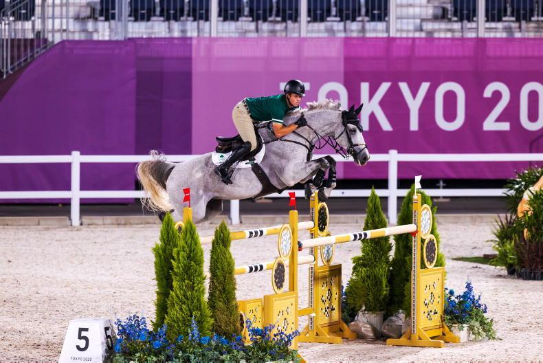 TOKYO: Irish team withdrawn after elimination of first rider