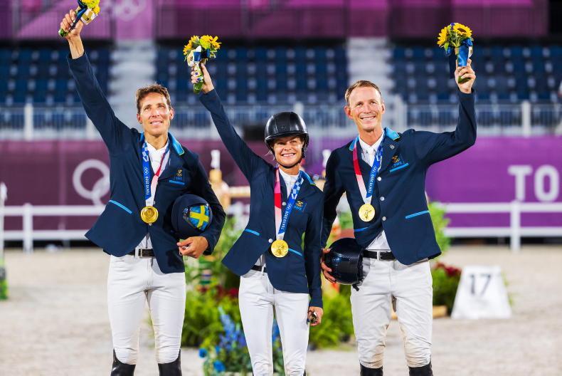 TOKYO SHOW JUMPING: Sweden get their reward with team gold