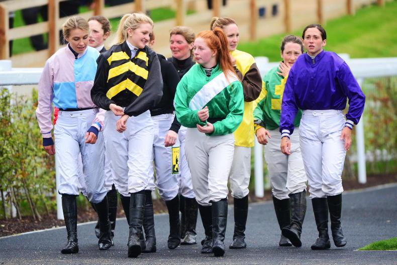 NEWS: 'Rachael' factor linked to huge increase in number of female jockeys