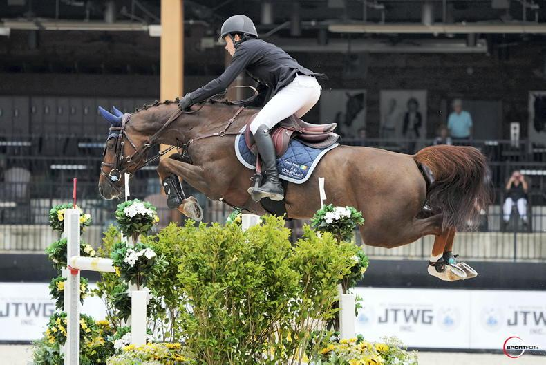 More success for Conor Swail at Tryon