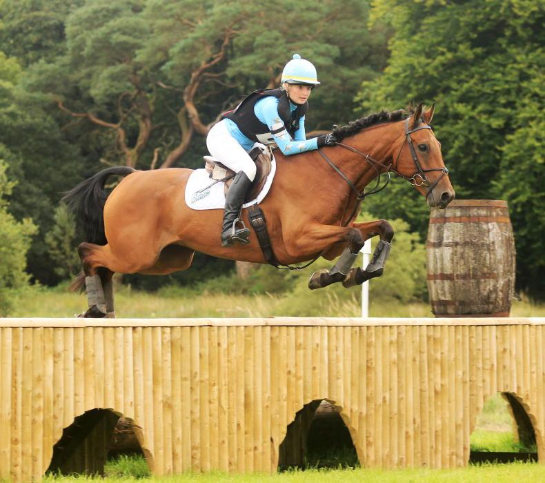 EVENTING: Dixon matches doubles' feat of Smith and Ennis