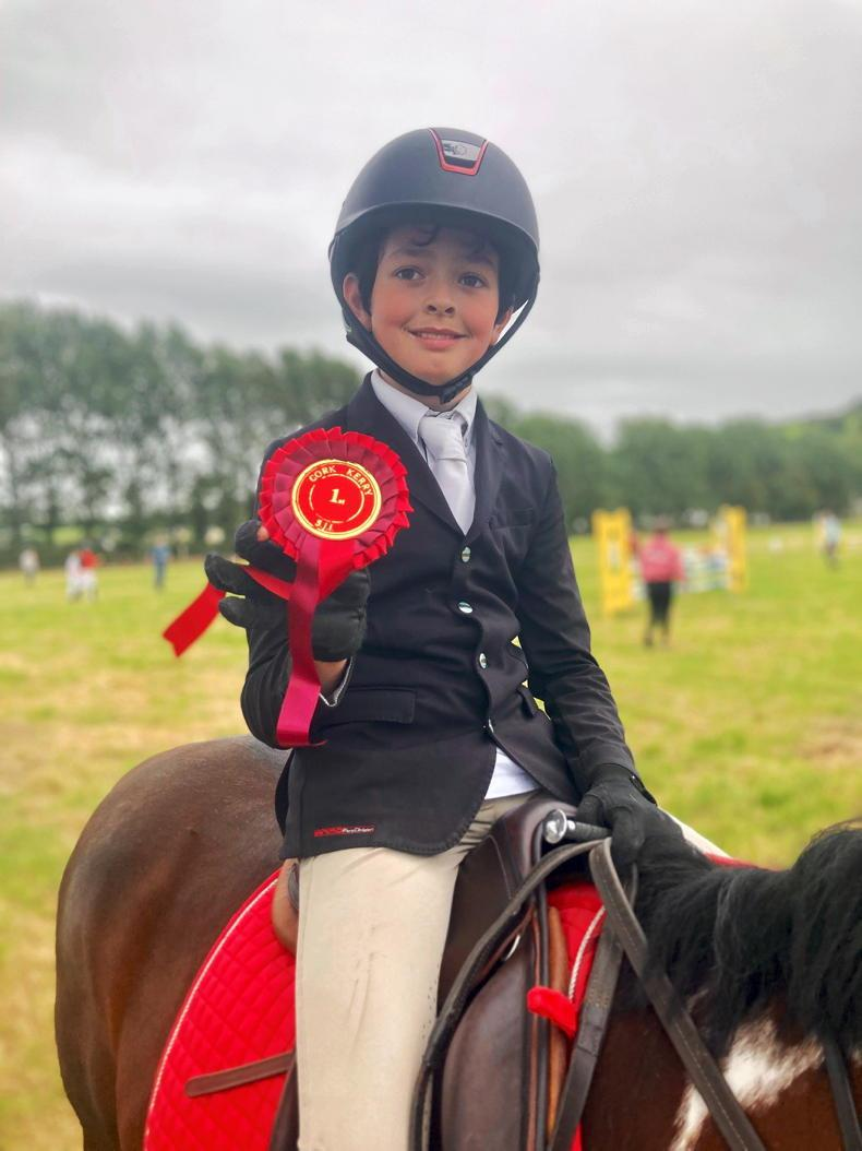 PONY TALES: Proud to take a win for Cork!