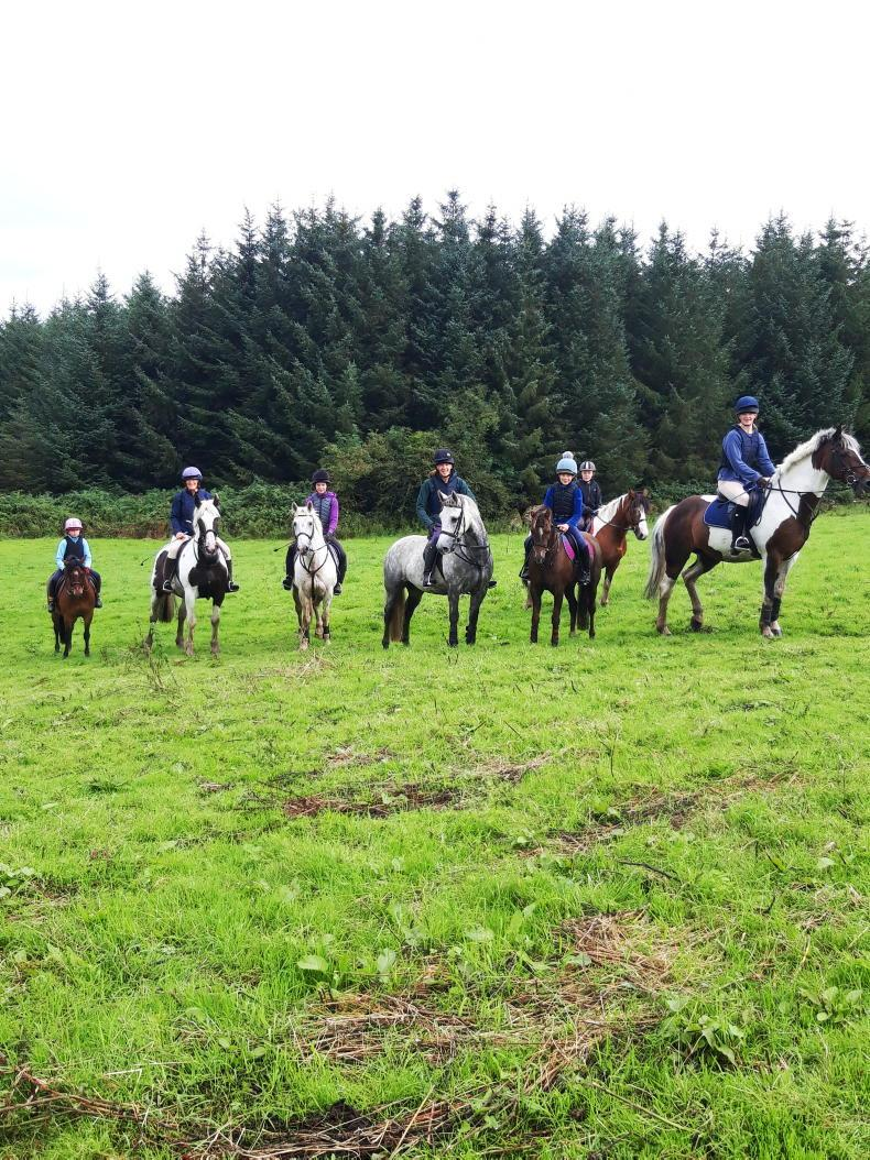 PONY TALES: Donard charity ride out raises €6,000