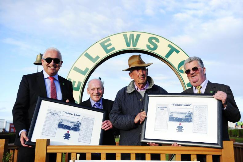 PARROT MOUTH: Barney's day at Bellewstown