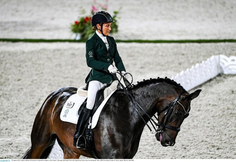 TOKYO: Addison and Gaffney get Ireland underway in para dressage