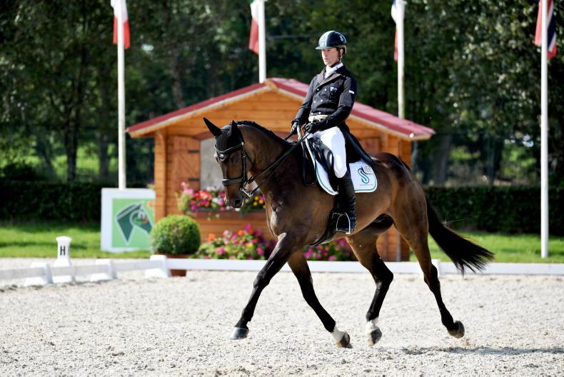 EVENTING: McNab takes early lead at Millstreet