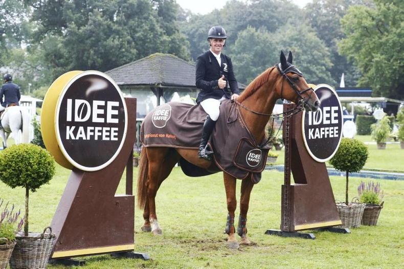 SHOW JUMPING: Breen lands five-star win at Hamburg