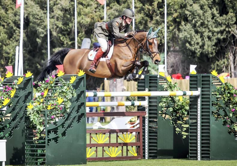Kelly flies the flag with hat-trick on Irish-bred horses