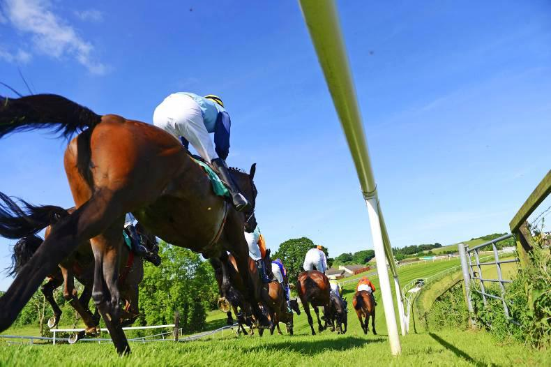 VIEW FROM ABOVE: Hats off again to Downpatrick