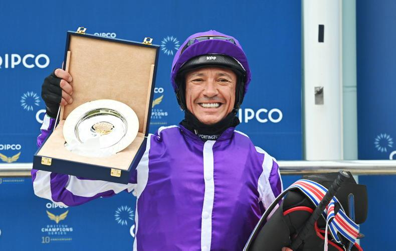 Dettori excited to join Ballydoyle's St Leger party