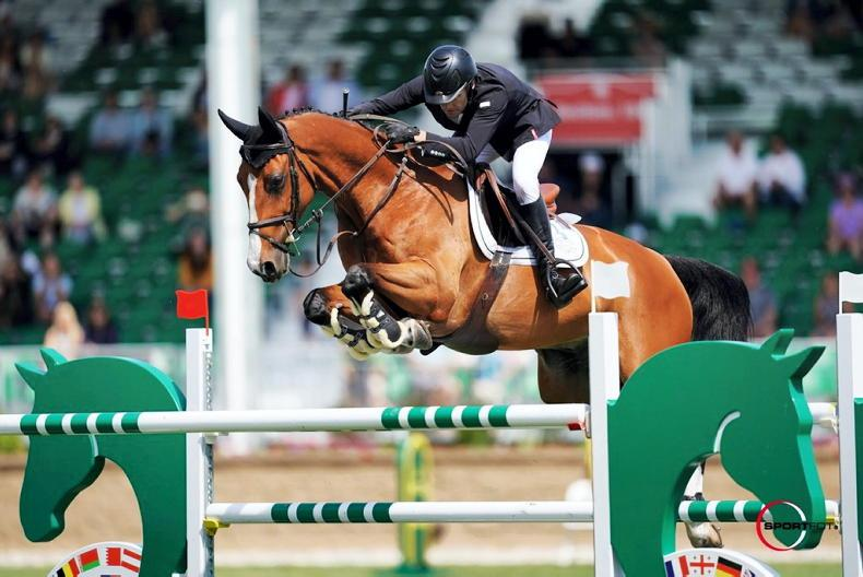 INTRNATIONAL: Five-star Spruce Meadows win for Swail