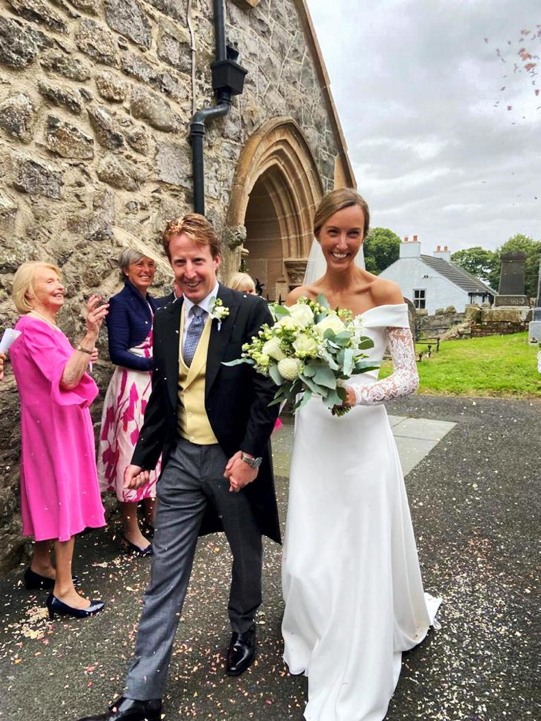 PONY TALES: Wedding bells for John and Sarah