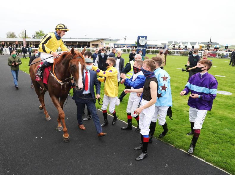 ICW - THE CURRAGH: 'A day I'll never forget'
