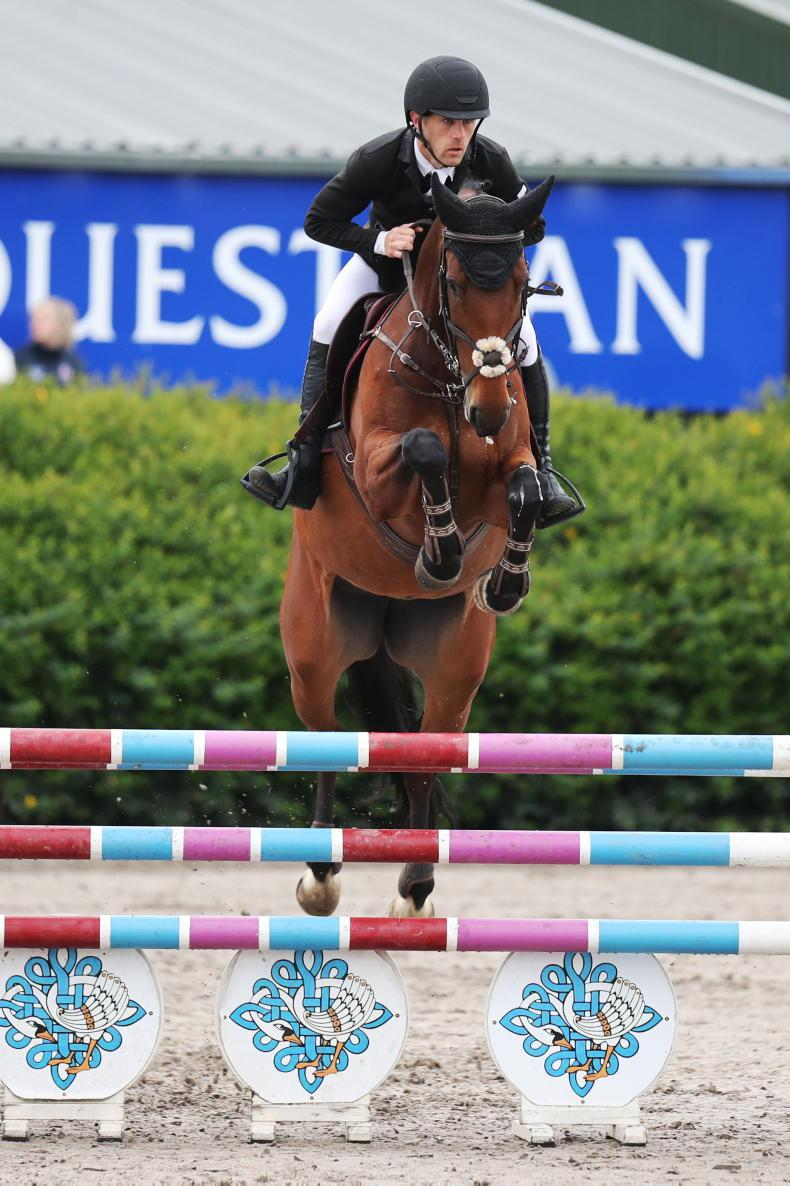 SHOW JUMPING: Finals come down to the wire