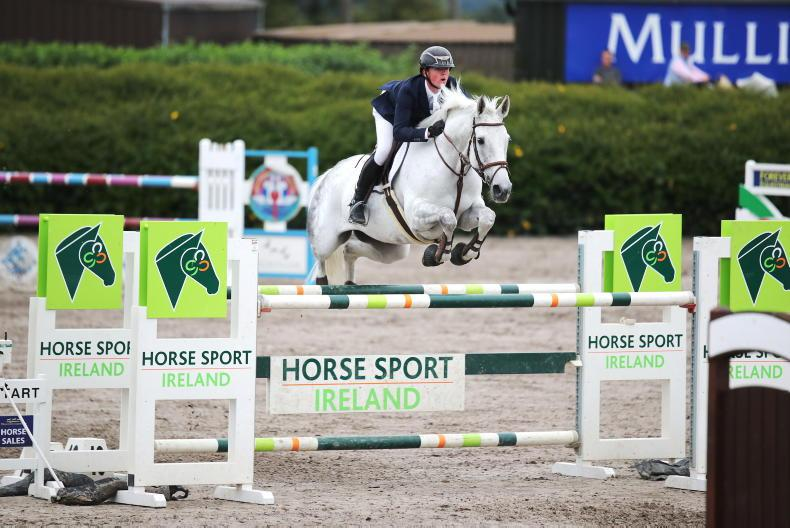SHOW JUMPING: Derwin scores on the double