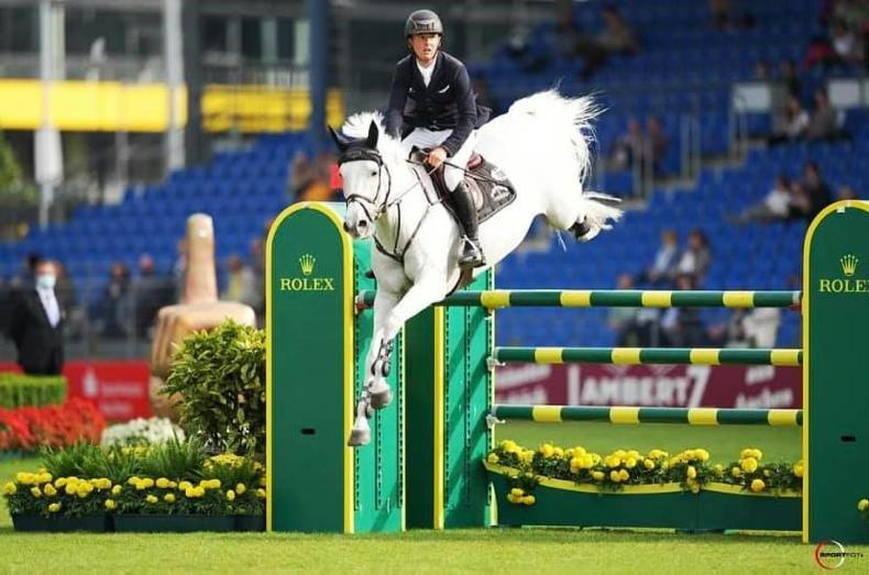 SHOW JUMPING: Irish show jumpers in flying form