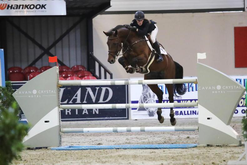 SHOW JUMPING: Ultra-talented McEvoy (17) dominates